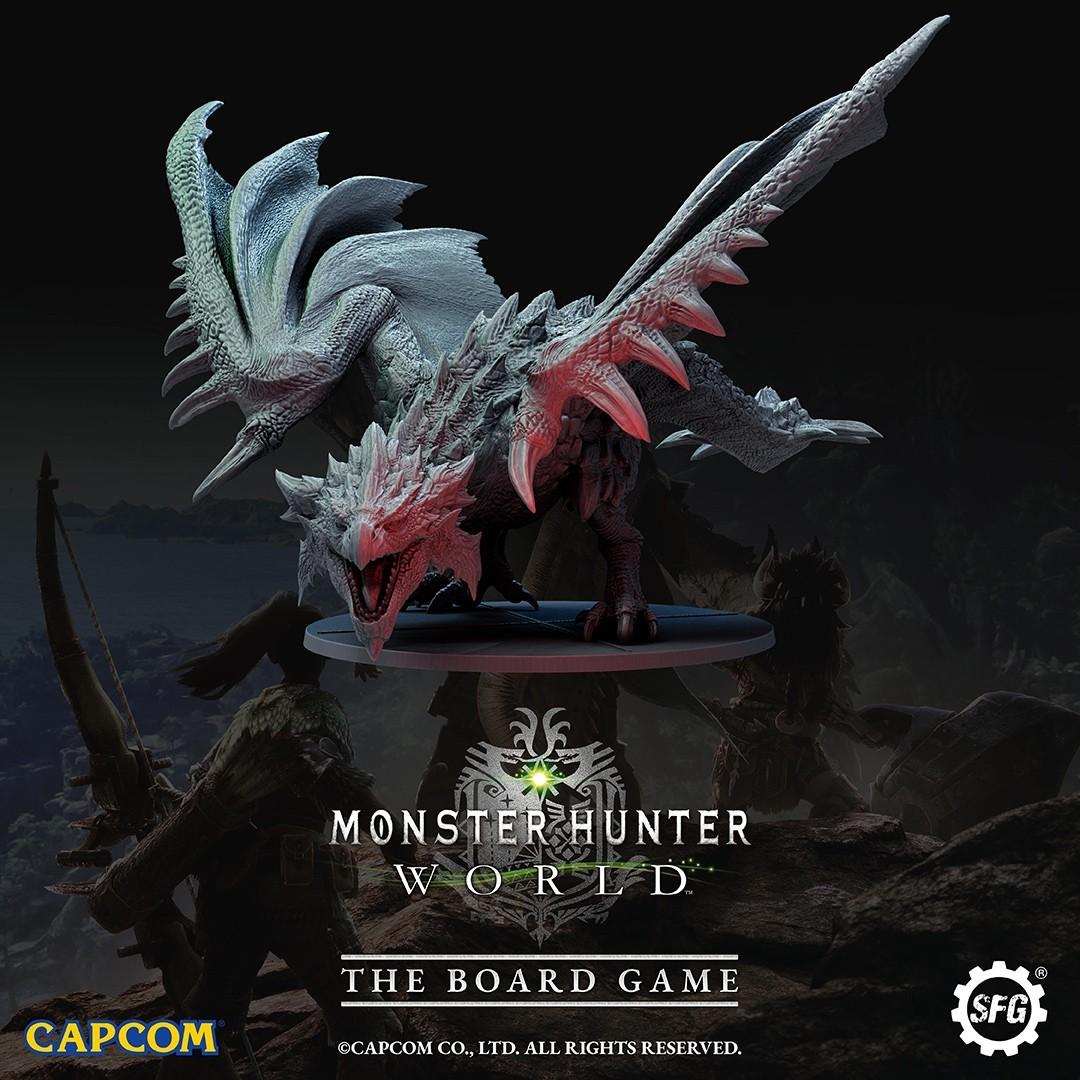 Nadchodzi planszówkowy Monster Hunter: World. Wkrótce zbiórka na Kickstarterze