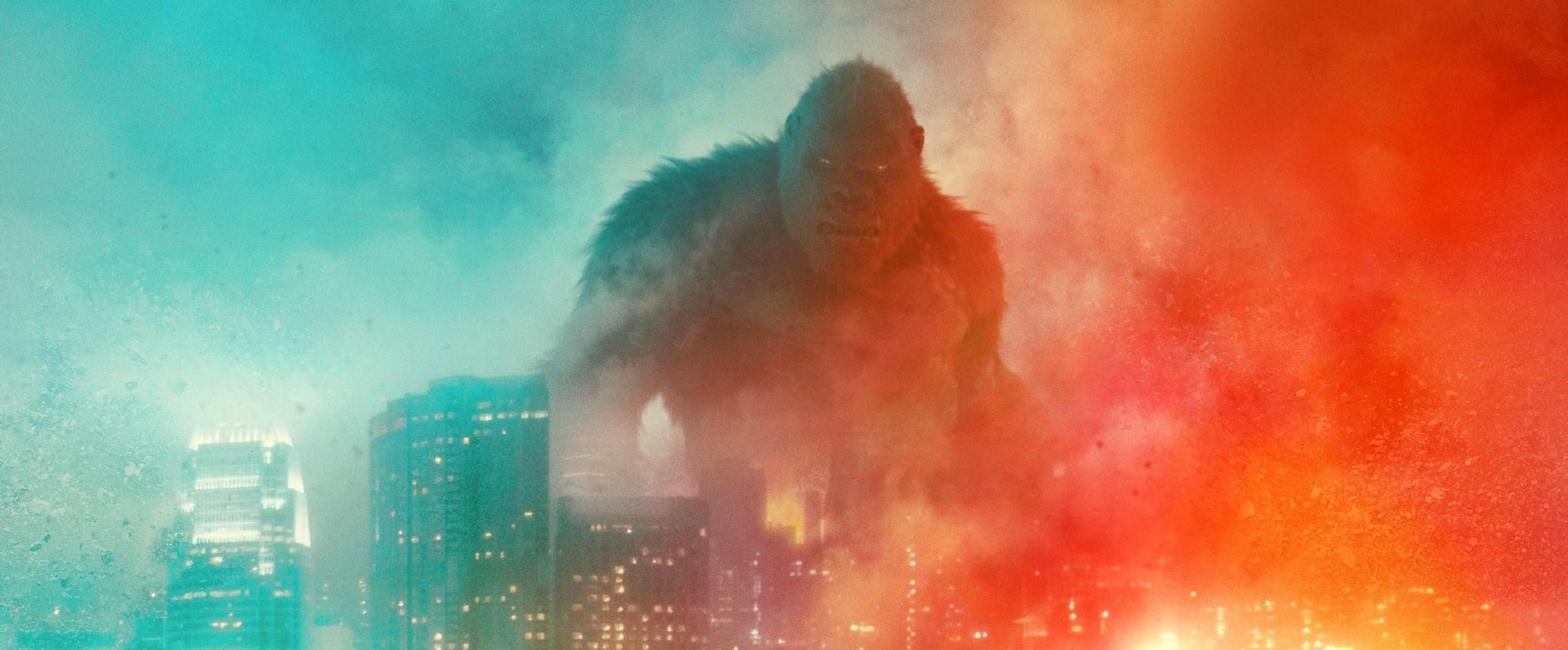 Godzilla vs Kong na nowym efektownym plakacie. Znamy datę debiutu zwiastuna (aktualizacja)