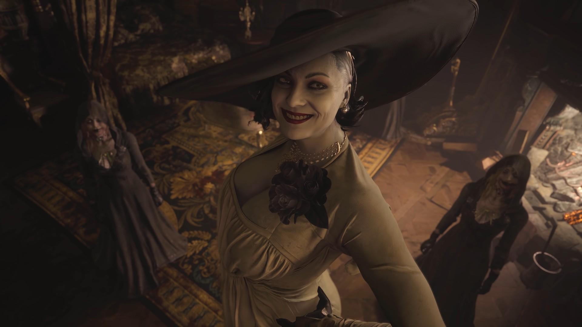 Lady Dimitrescu z Resident Evil Village jest wyższa od Mr. X i Nemesis